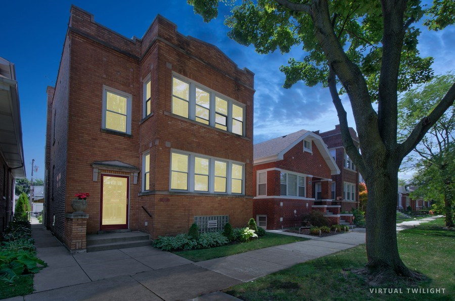 Real Estate Photography - 4247 N. Marmora Ave., Chicago, IL, 60634 - Front View