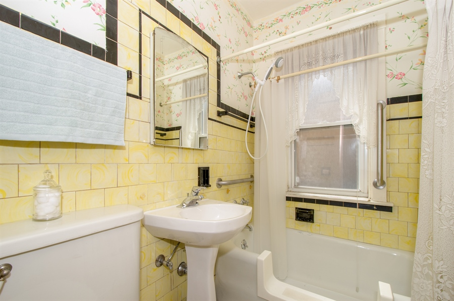 Real Estate Photography - 4247 N. Marmora Ave., Chicago, IL, 60634 - Bathroom #1