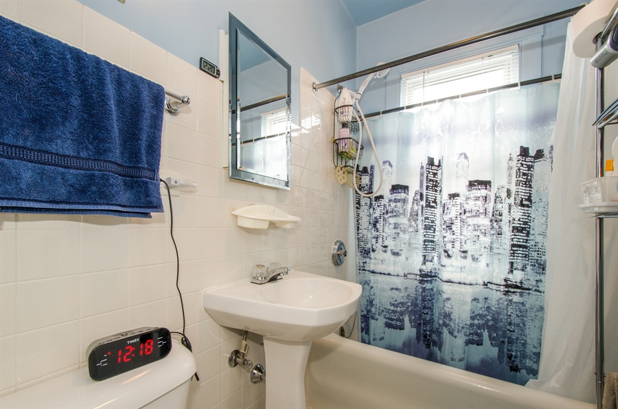 Real Estate Photography - 4247 N. Marmora Ave., Chicago, IL, 60634 - Bathroom #2