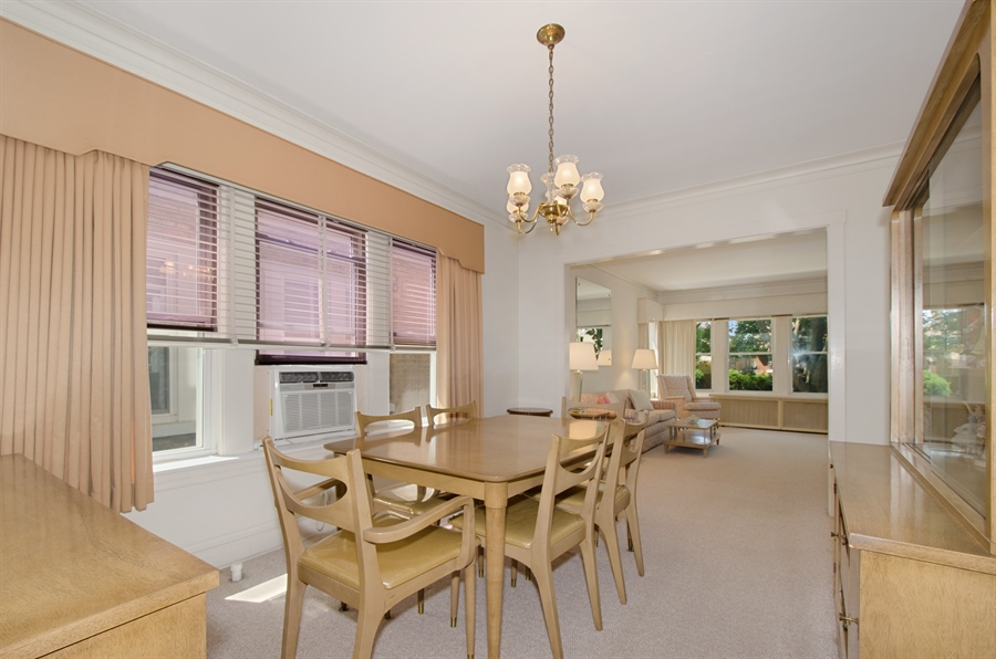 Real Estate Photography - 4247 N. Marmora Ave., Chicago, IL, 60634 - Dining Room / Living Room #1