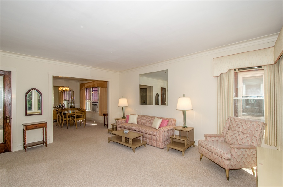 Real Estate Photography - 4247 N. Marmora Ave., Chicago, IL, 60634 - Living Room / Dining Room #1