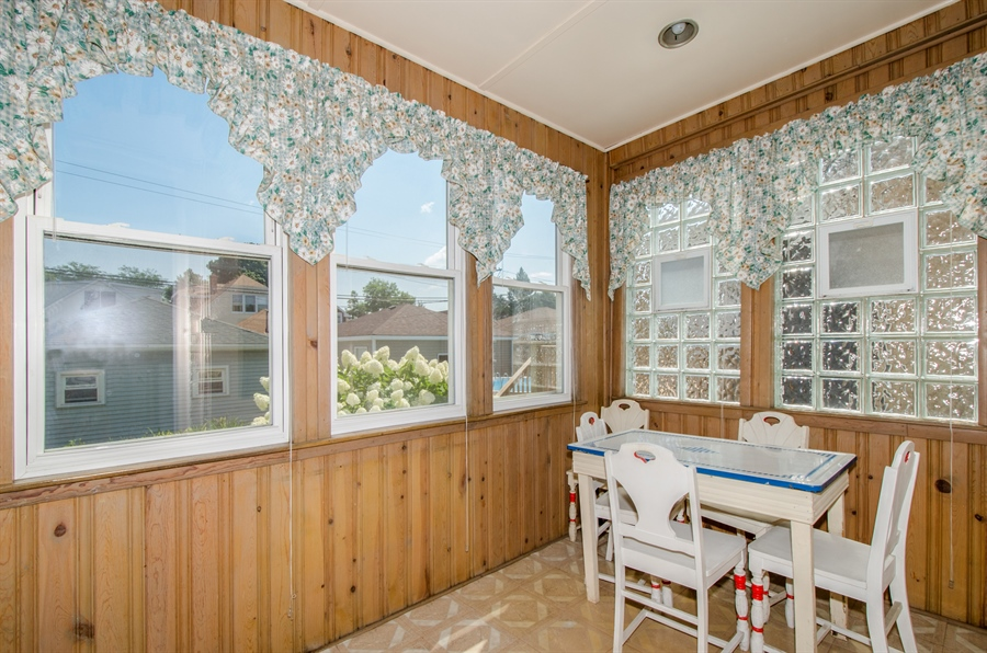 Real Estate Photography - 4247 N. Marmora Ave., Chicago, IL, 60634 - Sun Room #1