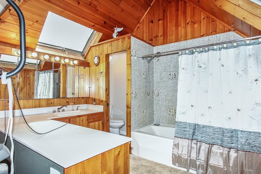 Real Estate Photography - 25550 W Cuba Rd, Barrington, IL, 60010 - Master Bathroom