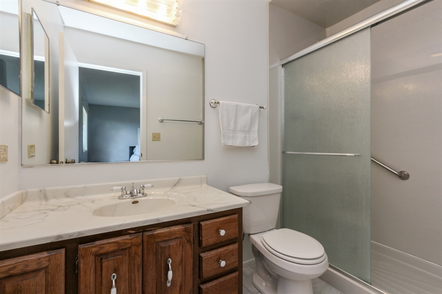 Real Estate Photography - 146 Lilac Lane, Buffalo Grove, IL, 60089 - Master Bath
