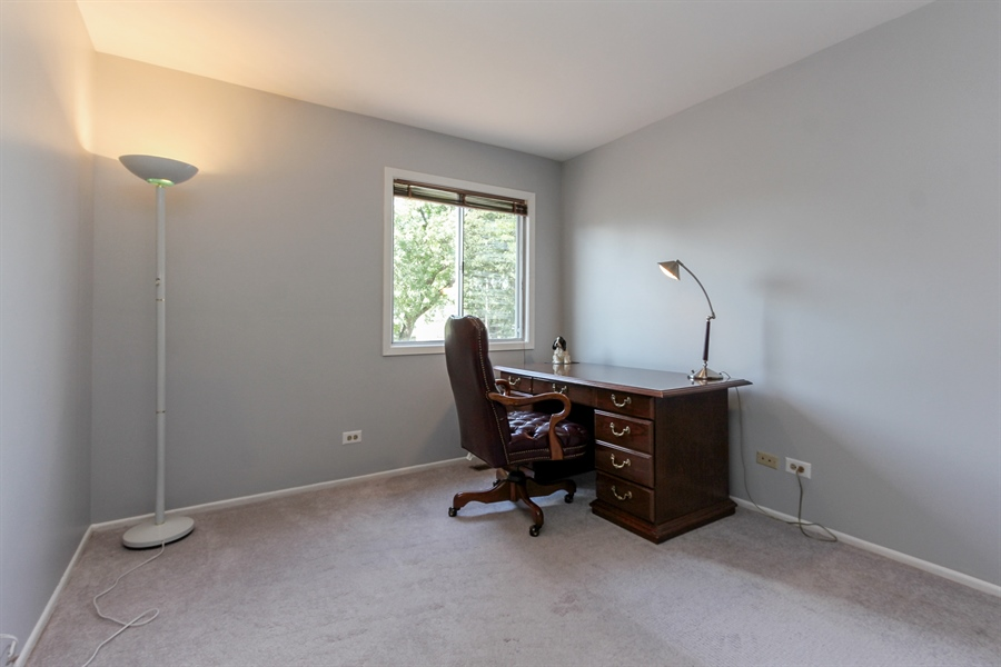 Real Estate Photography - 146 Lilac Lane, Buffalo Grove, IL, 60089 - Bedroom Three
