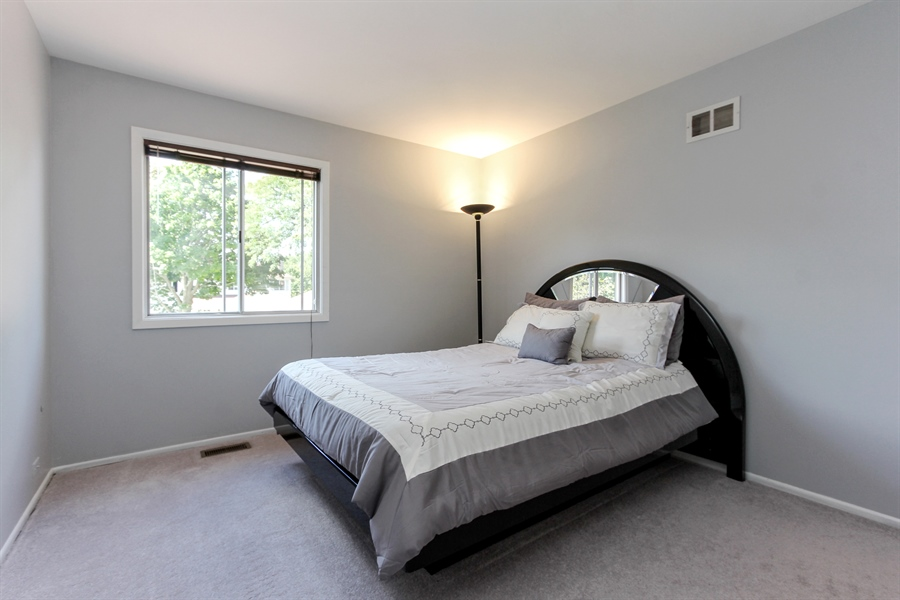 Real Estate Photography - 146 Lilac Lane, Buffalo Grove, IL, 60089 - Bedroom Two