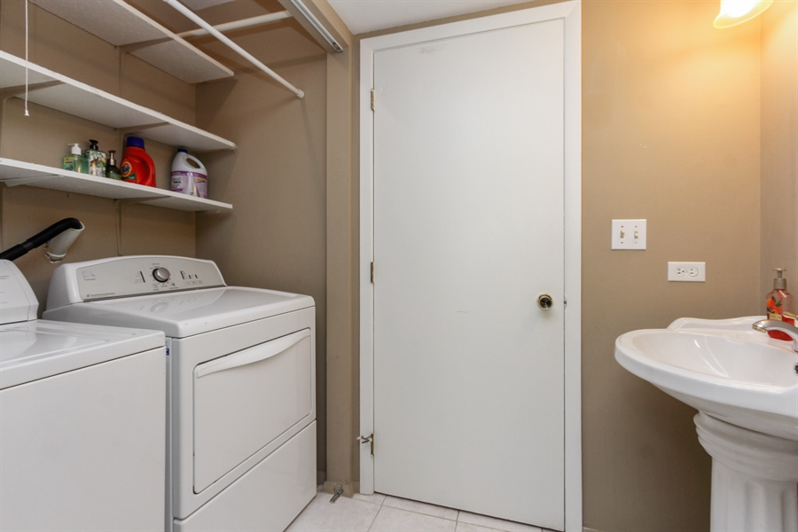 Real Estate Photography - 146 Lilac Lane, Buffalo Grove, IL, 60089 - Laundry Room