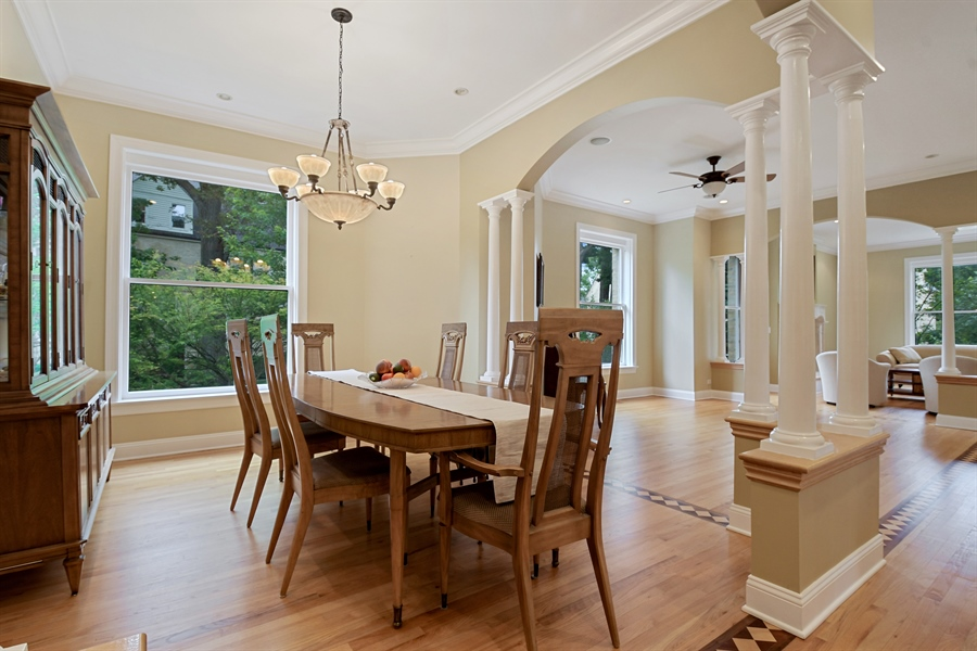 Real Estate Photography - 41 Scott Loop, Highland Park, IL, 60035 - Dining Room