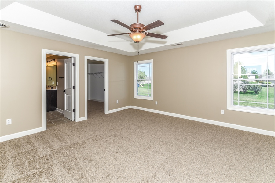 Real Estate Photography - 1670 Eagle Bluff, Bourbonnais, IL, 60914 - Master Bedroom