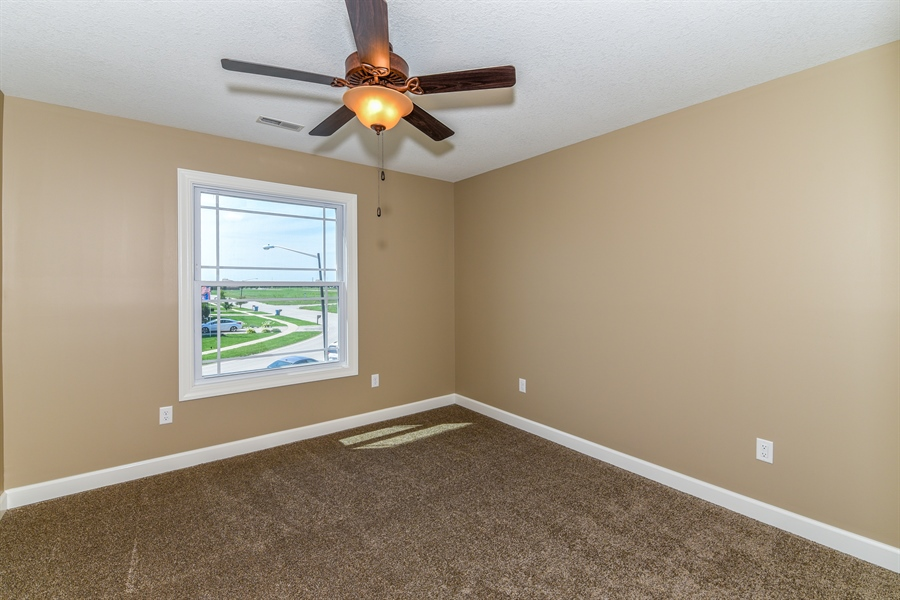 Real Estate Photography - 1670 Eagle Bluff, Bourbonnais, IL, 60914 - 2nd Bedroom