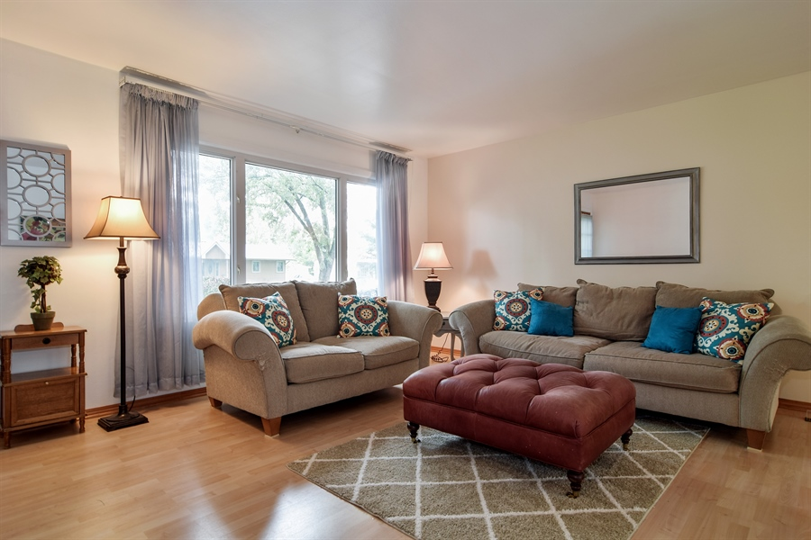 Real Estate Photography - 1885 Evergreen Ave, Hanover Park, IL, 60133 - Living Room