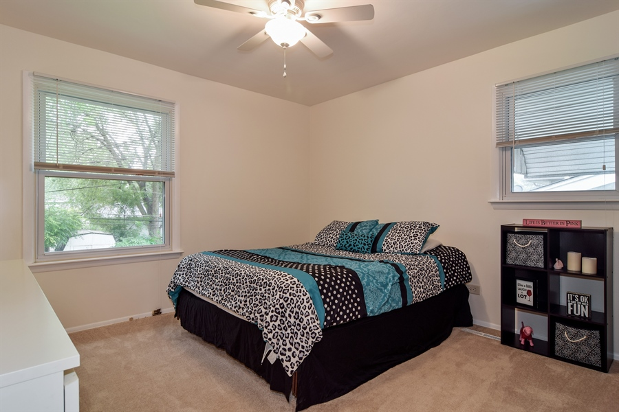 Real Estate Photography - 1885 Evergreen Ave, Hanover Park, IL, 60133 - Master Bedroom