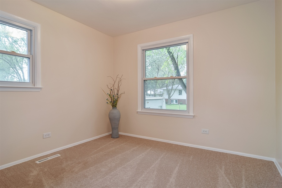 Real Estate Photography - 1885 Evergreen Ave, Hanover Park, IL, 60133 - Guest Bedroom
