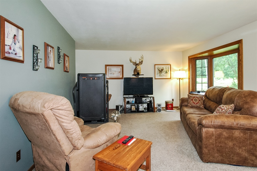 Real Estate Photography - 495 Betterway St, Keith, Mayville, WI, 53050 - Living Room