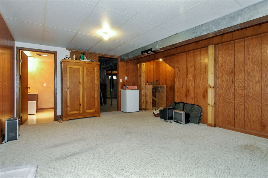 Real Estate Photography - 495 Betterway St, Keith, Mayville, WI, 53050 - Basement