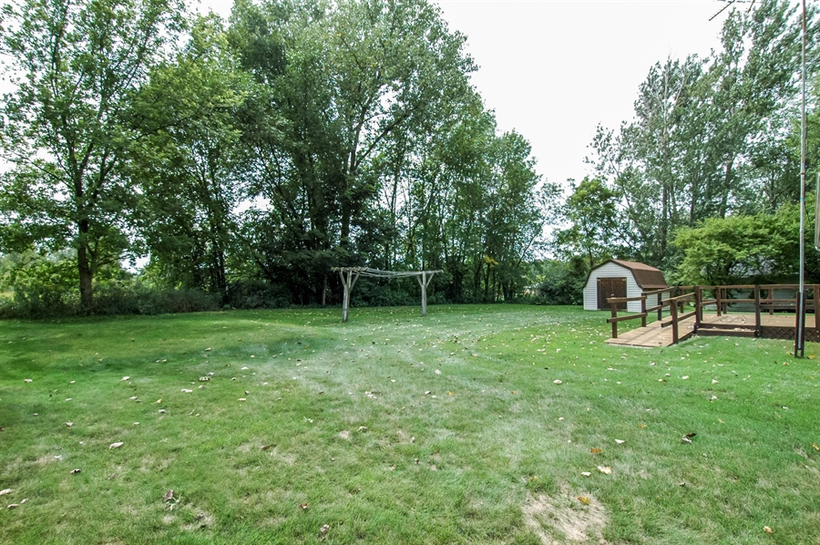 Real Estate Photography - 495 Betterway St, Keith, Mayville, WI, 53050 - Back Yard