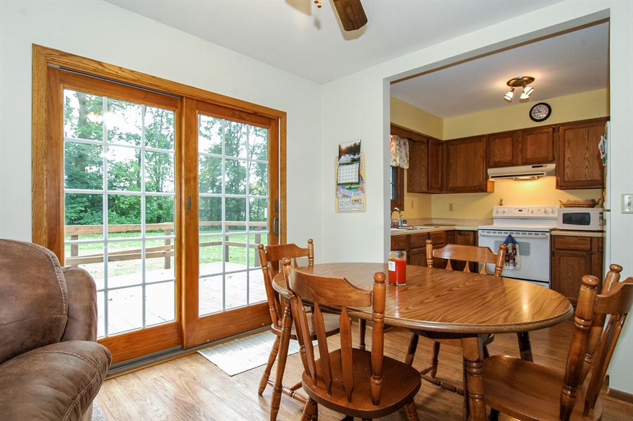 Real Estate Photography - 495 Betterway St, Keith, Mayville, WI, 53050 - Dining Area