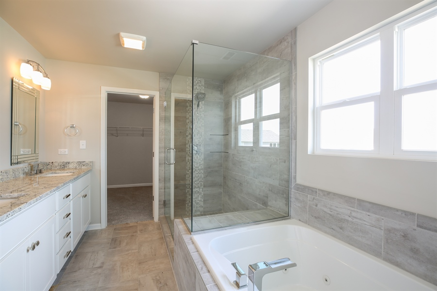 Real Estate Photography - 2724 w 86 Ave, Merrilville, IN, 46410 - Master Bathroom