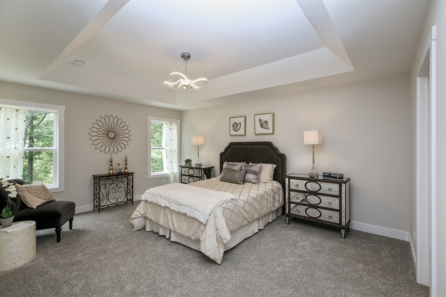 Real Estate Photography - 1025 Oak Grove Court, Crown Point, IN, 46307 - Master Bedroom