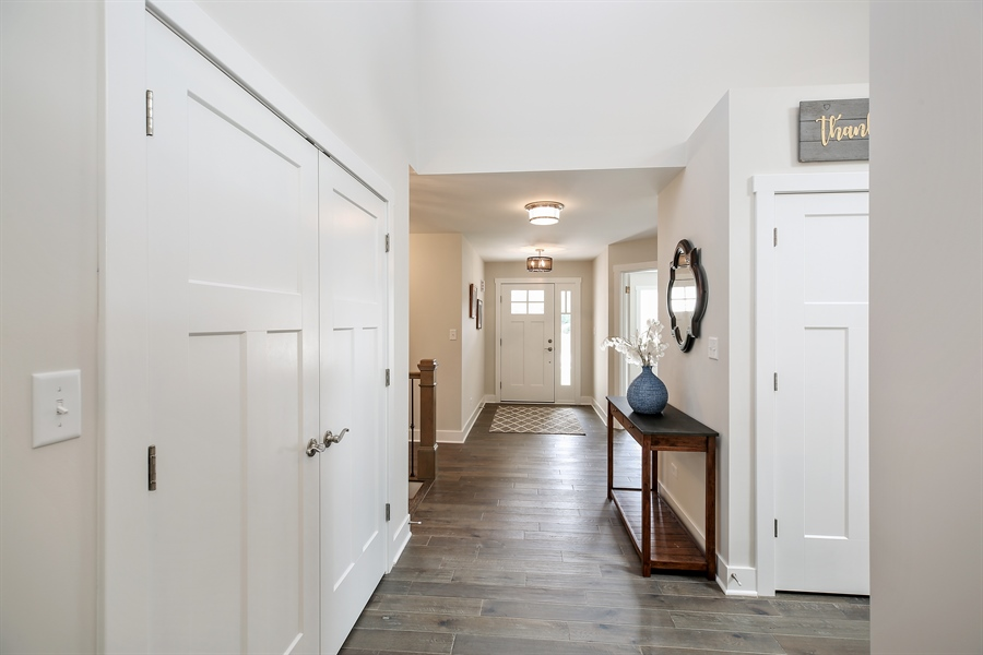 Real Estate Photography - 1025 Oak Grove Court, Crown Point, IN, 46307 - Foyer