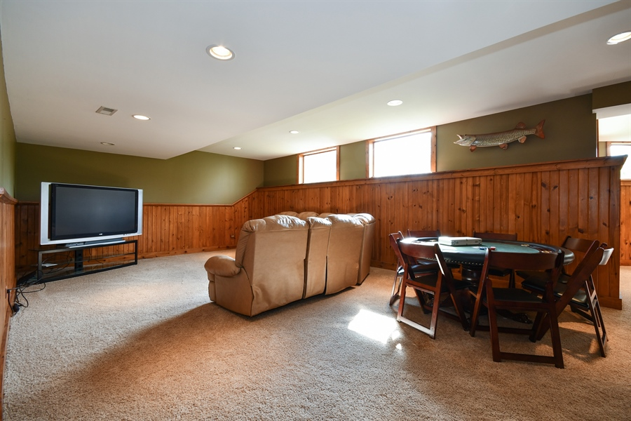 Real Estate Photography - 6n583 Promontory Ct, St Charles, IL, 60175 - Basement