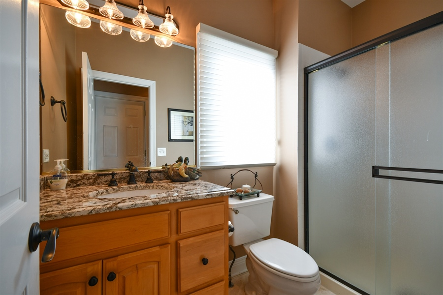 Real Estate Photography - 6n583 Promontory Ct, St Charles, IL, 60175 - Half Bath