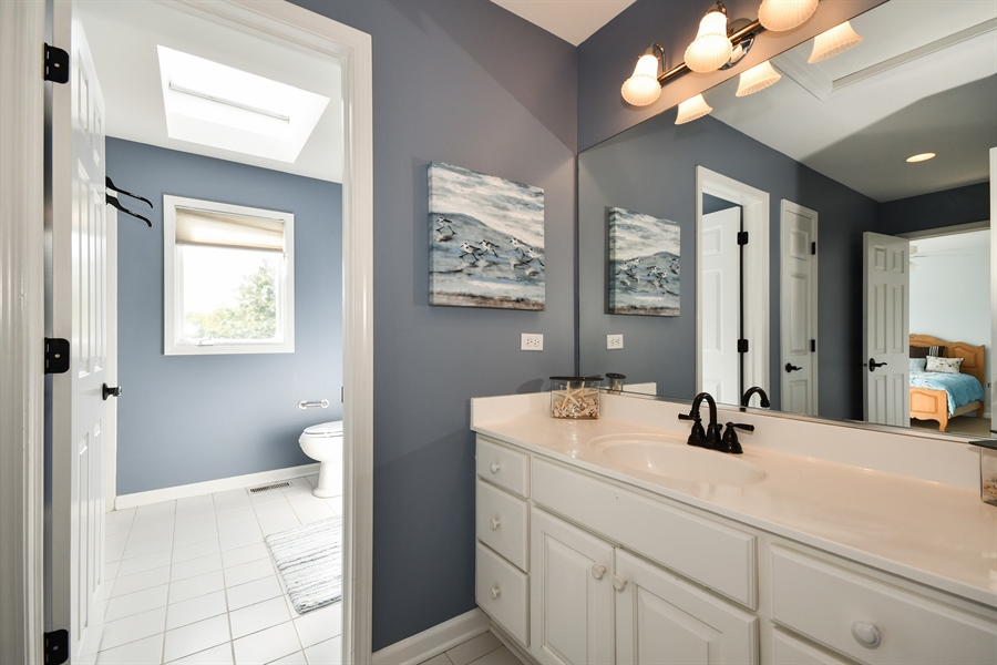 Real Estate Photography - 6n583 Promontory Ct, St Charles, IL, 60175 - 2nd Bathroom