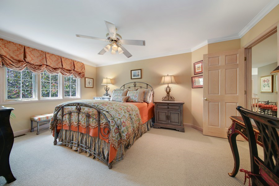 Real Estate Photography - 2 Brighton Place, Burr Ridge, IL, 60527 - 4th Bedroom