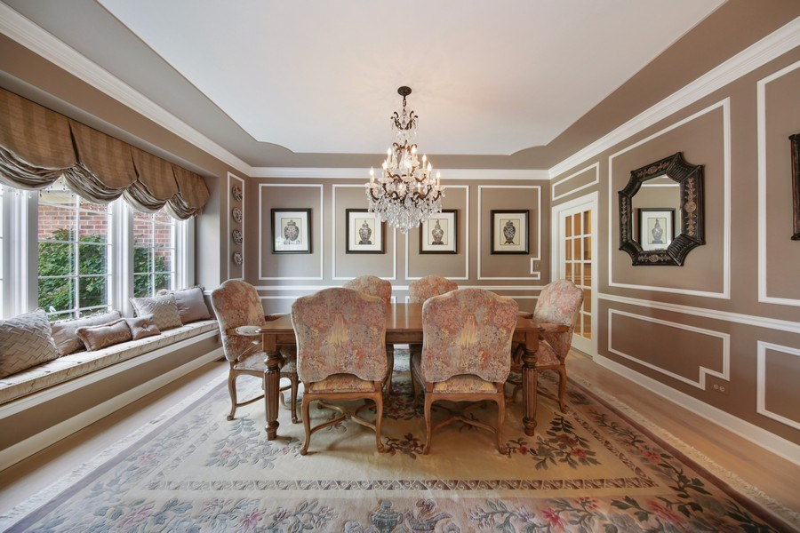 Real Estate Photography - 2 Brighton Place, Burr Ridge, IL, 60527 - Dining Room