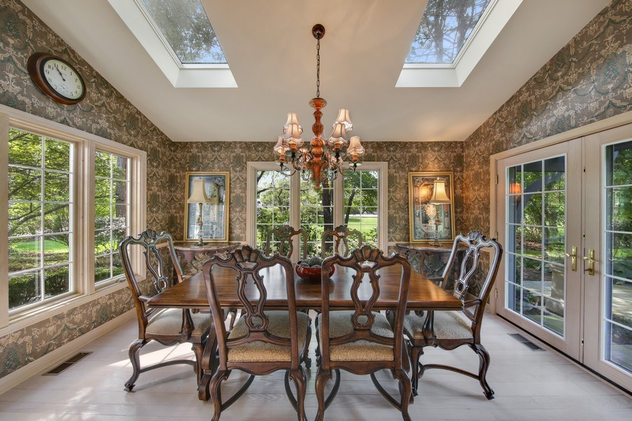 Real Estate Photography - 2 Brighton Place, Burr Ridge, IL, 60527 - Sun Room