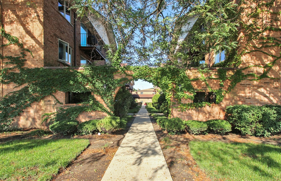 Real Estate Photography - 8421 W. Gregory, 201, Chicago, IL, 60656 - Front View