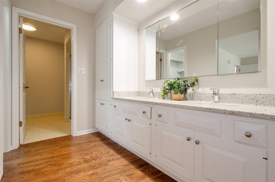 Real Estate Photography - 302 Basswood, Northbrook, IL, 60062 - Master Bathroom