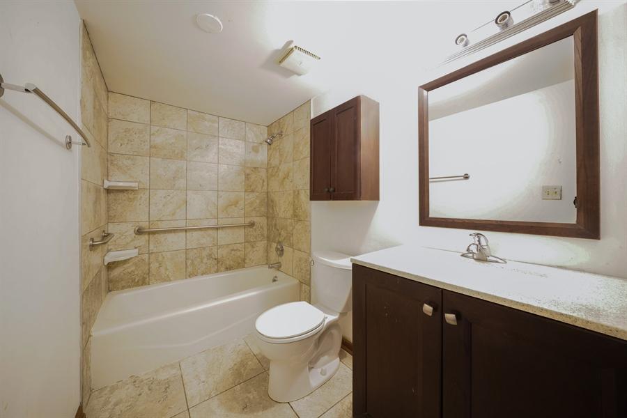 Real Estate Photography - 135 E Grand Ave, GF, Bensenville, IL, 60106 - Bathroom
