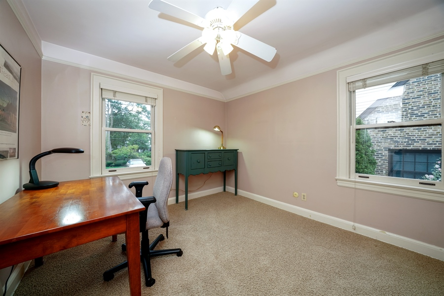 Real Estate Photography - 3932 Grove Ave, Western Springs, IL, 60558 - 3rd Bedroom