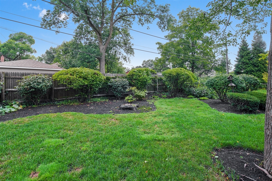 Real Estate Photography - 3932 Grove Ave, Western Springs, IL, 60558 - Back Yard