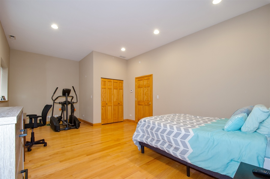 Real Estate Photography - 5481 N Milwaukee, Chicago, IL, 60630 - Bedroom