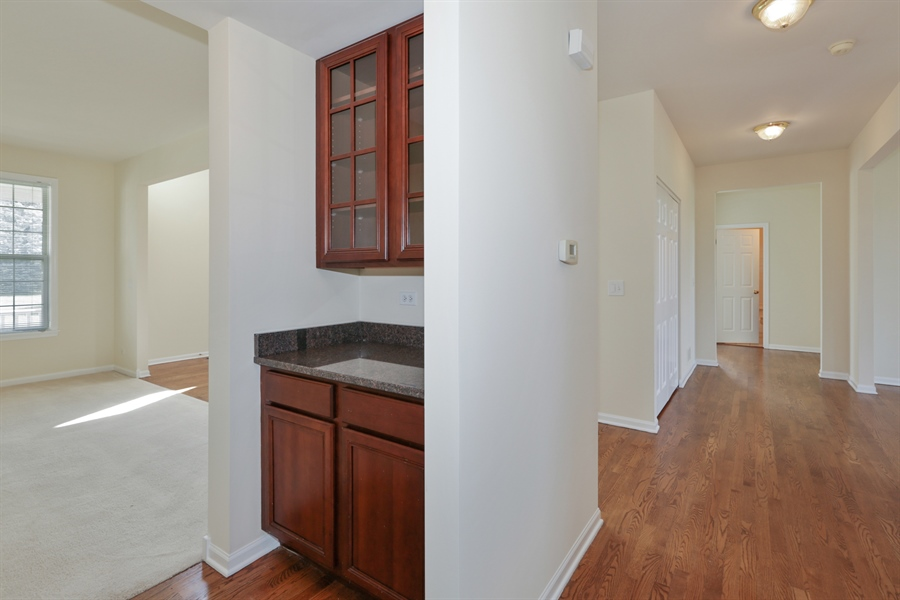 Real Estate Photography - 705 Goodman Ct, Barrington Hills, IL, 60010 - Butlers Pantry and Hallway