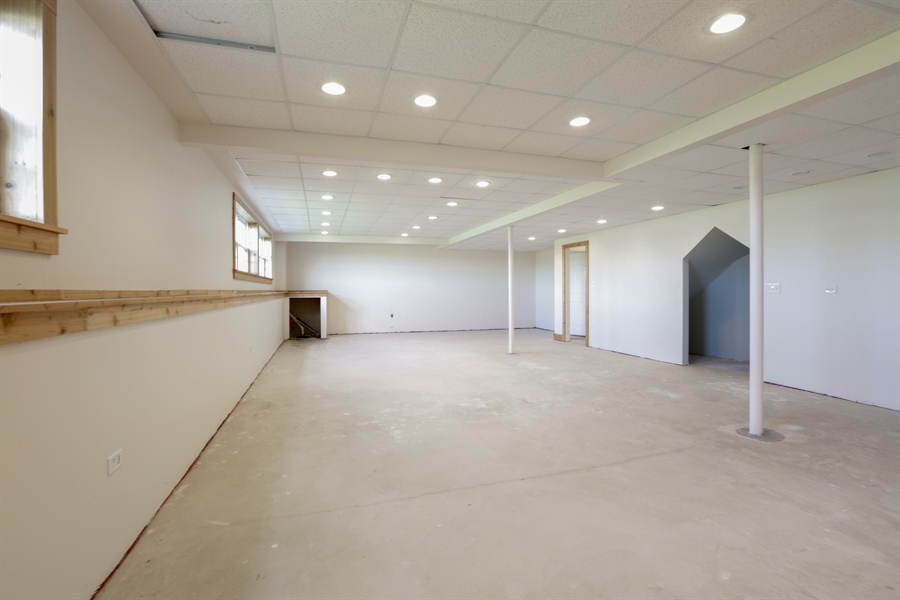 Real Estate Photography - 705 Goodman Ct, Barrington Hills, IL, 60010 - English Basement Recreation Room