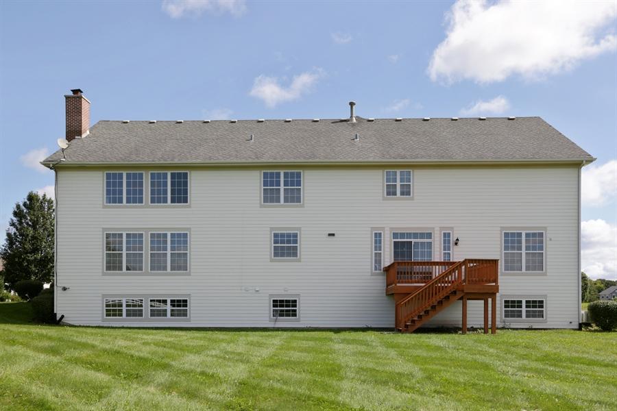 Real Estate Photography - 705 Goodman Ct, Barrington Hills, IL, 60010 - Rear View