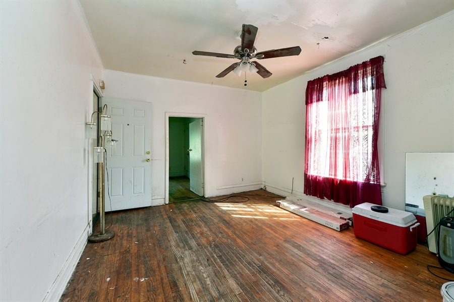 Real Estate Photography - 6640 S Wolcott, Chicago, IL, 60636 - Living Room