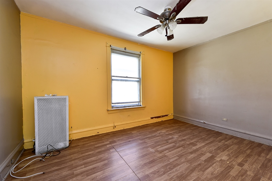 Real Estate Photography - 6640 S Wolcott, Chicago, IL, 60636 - Bedroom