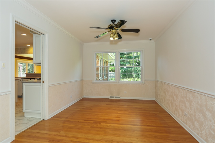 Real Estate Photography - 600 Franklin St., Hinsdale, IL, 60521 - Dining Room