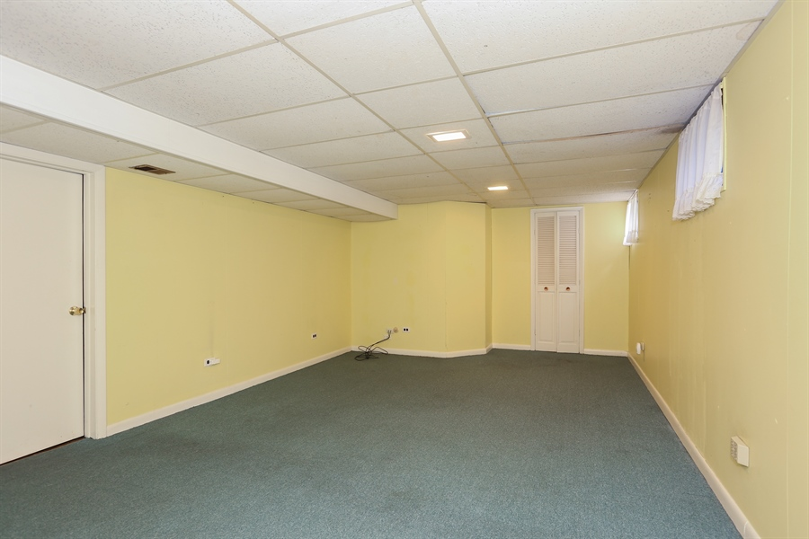 Real Estate Photography - 600 Franklin St., Hinsdale, IL, 60521 - Recreation Room