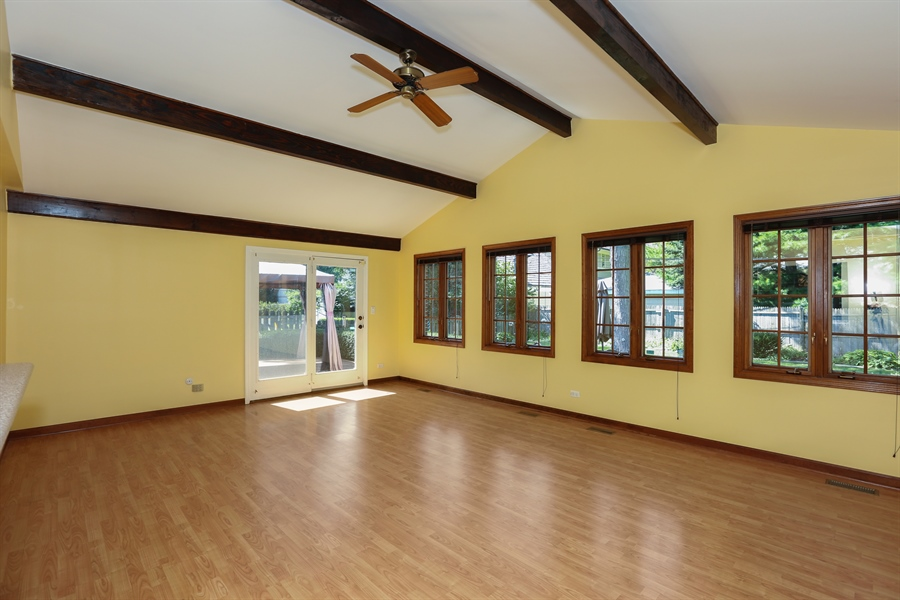 Real Estate Photography - 600 Franklin St., Hinsdale, IL, 60521 - Family Room