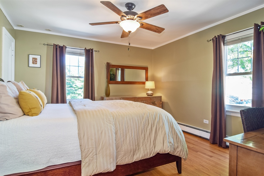Real Estate Photography - 928 S. Harvard Ave., Villa Park, IL, 60181 - Guest Bedroom