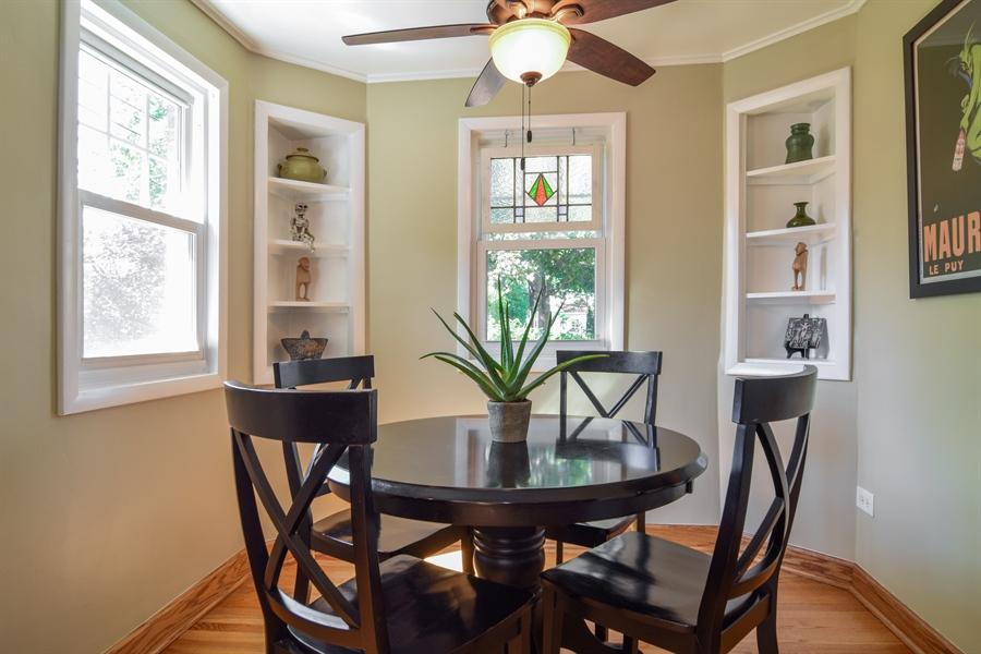 Real Estate Photography - 928 S. Harvard Ave., Villa Park, IL, 60181 - Breakfast Nook