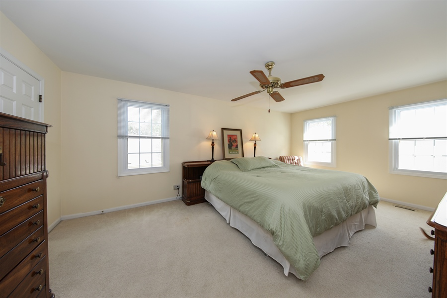 Real Estate Photography - 2510 Mill Creek Ln., Rolling Meadows, IL, 60008 - Master Bedroom