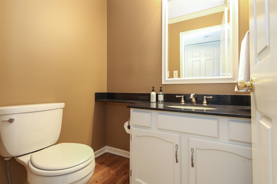 Real Estate Photography - 2510 Mill Creek Ln., Rolling Meadows, IL, 60008 - Half Bath