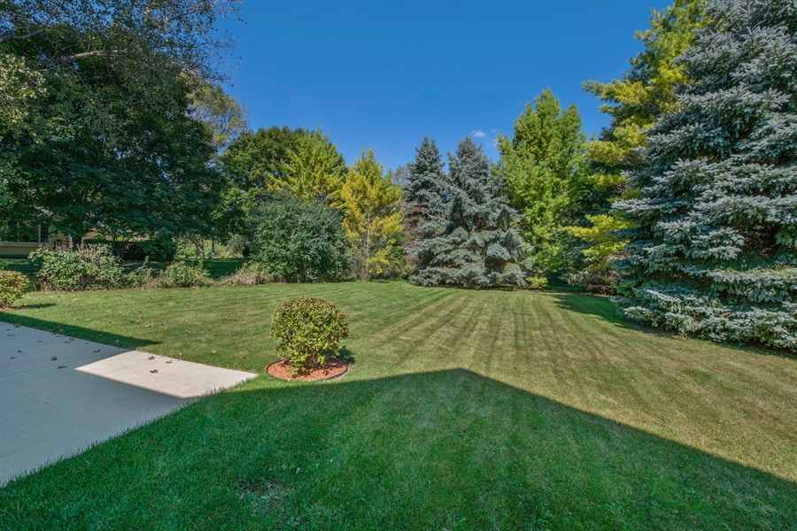 Real Estate Photography - 9326 W Stanford Ct, Mequon, WI, 53097 - Back Yard