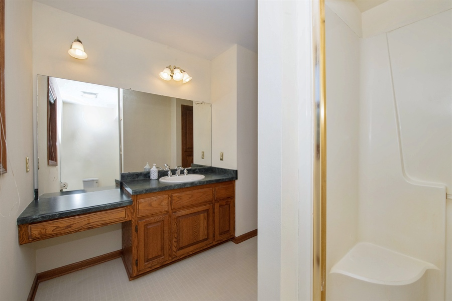 Real Estate Photography - 9326 W Stanford Ct, Mequon, WI, 53097 - 2nd Bathroom
